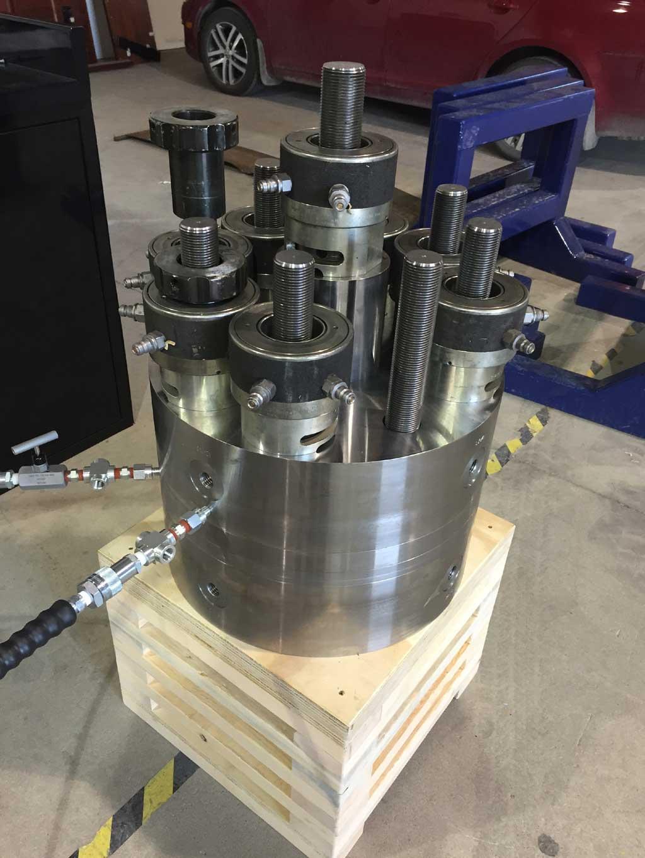High pressure testing